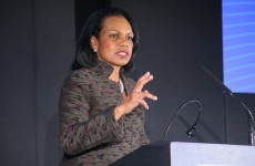 Event Photography in Amsterdam with keynote speaker Condoleezza Rice